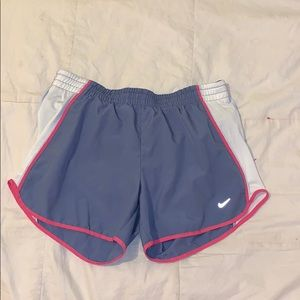 Nike light blue/grey Shorts